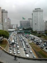 Une photo pour resumer Sao Paulo...