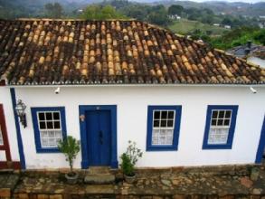 Maison typique de Tiradentes, Minas Gerais