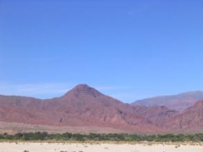 La vallee Calchaquies, a proximite de Salta, Argentine
