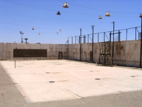 Photo du terrain de tennis a Humberstone, Chili