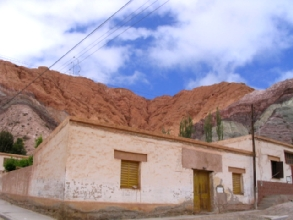 Maison traditionnelle a Purmamarca, Argentine