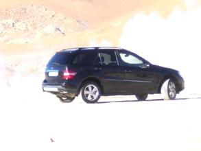 Le dernier prototype Mercedes 4x4