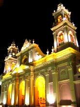 La cathedrale de Salta, Argentine