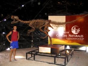 Photo du musee du parc Ischigualasto dans les environs de San Juan, Argentine