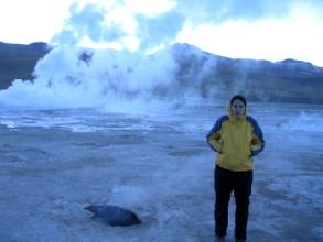 Les geysers d'El Tatio, a proximite de San Pedro de Atacama, Chili